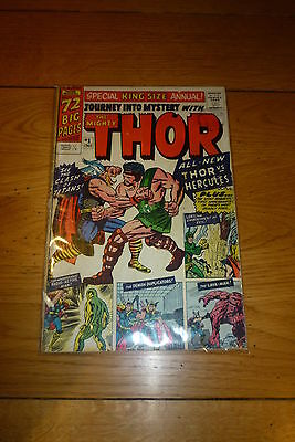 JOURNEY INTO MYSTERY with the MIGHTY THOR - 1965 Annual No 1 - Marvel Comic