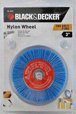 "Black & Decker 70-620 3"" Fine Grit (#180) Nylon Wheel"