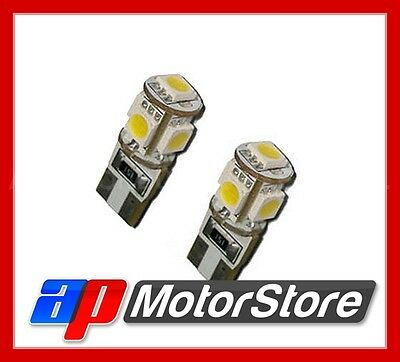 Led Light Bulbs T10 - 501 - T10 - 5Smd - 5050 Canbus 5 Smd White Sidelight