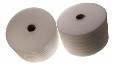 "Two 376' Rolls of 1/16"" Thick Packaging Foam Wrap 12"" Tall Free Shipping"