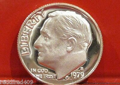 1979 S Type 1  Roosevelt Dime Gem Proof - FREE Shipping
