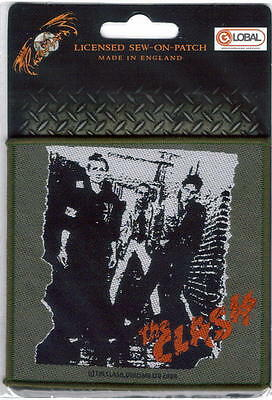 The Clash First Lp Sew On Woven Patch New  !