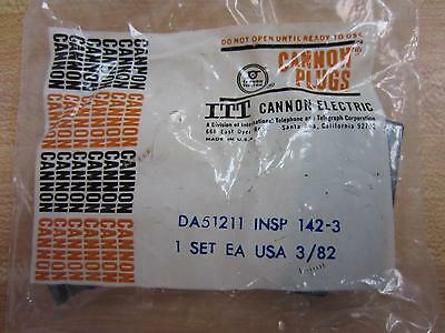 ITT Cannon Electric DA51211 Plugs 14 Pin Female Shell