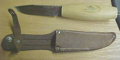 A6 Vintage RARE! one on ebay Miltex Made in Japan hunting knife wooden handle