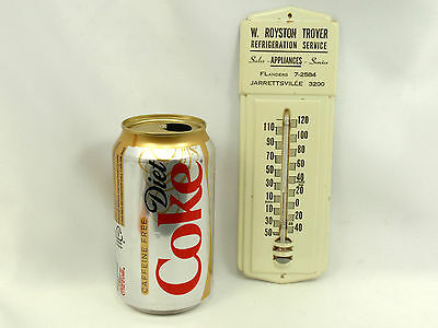 REFRIGERATION APPLIANCES Vintage Thermometer Metal Advertise Sign - FREE SHIP