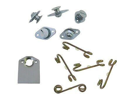 Dzus Buttons 5/16 Self Ejecting Springs  Long Plates