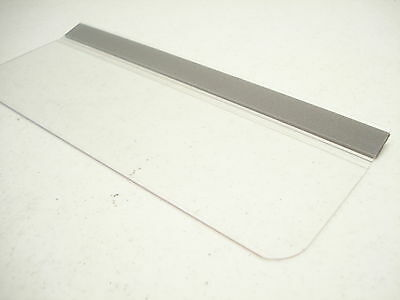 """Case Of 100 Clear Hinged Pallet Tag Item 750000001 Op-101 7-1/2 X 2-1/4"""""""