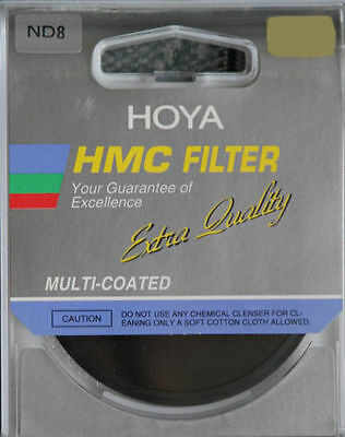 Genuine 52mm Hoya HMC ND8 Neutral Density Multi Coated filter Special Offer New