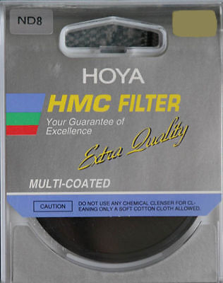 Genuine 62mm Hoya HMC ND8 Multi Coated Neutral Density Filter Special Offer!