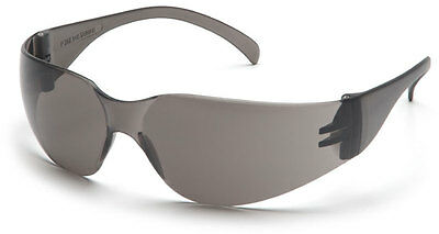 60 Pair 1700 Series Smoke / Gray Lens Safety Glasses