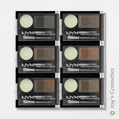 "3 NYX Eyebrow Cake Powder - Brow ECP ""Pick Your 3 Color""  *Joy's cosmetics*"