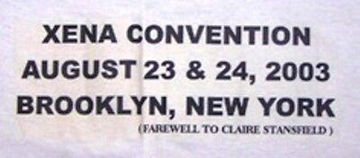 Xena - Farewell To Claire Tee Shirt - Brooklyn Convention - New - Xlarge