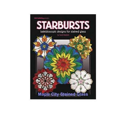 Stained Glass Pattern Book - Starbursts Patterns, Suncatchers 11 Full Size