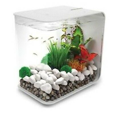 Reef One Biorb FLOW Nano Aquarium Tank 15L Coldwater Including LED Light White