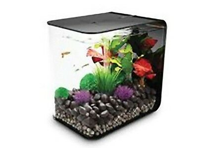 Reef One Biorb FLOW Nano Aquarium Tank 30L Coldwater Including LED Light Black