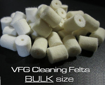 VFG REGULAR felts for cleaning rod system --> 13 sizes available! Bulk Size