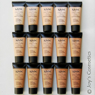 "1 NYX Stay Matte But Not Flat Liquid Foundation - SMF ""Pick Your 1 color""*Joy's*"