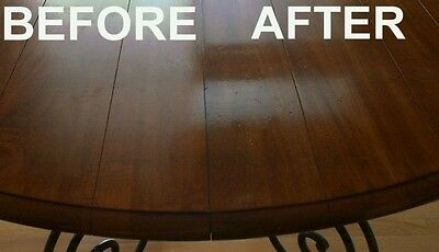 Wood Table Surface Scratch Stain Remover Restorer and Cleaner Polish