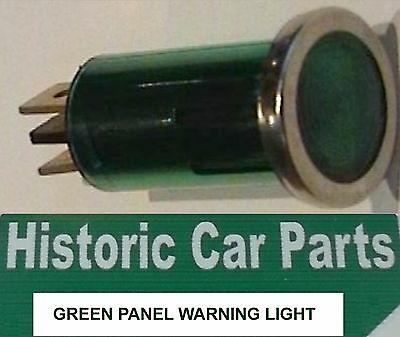 DASHBOARD GREEN WARNING LIGHT x 1 - period Panel light for Accessory on