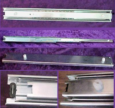 New 8 Extra Heavy Duty HD Drawer Slides 24 Steel Bearing 12 in Full Extension