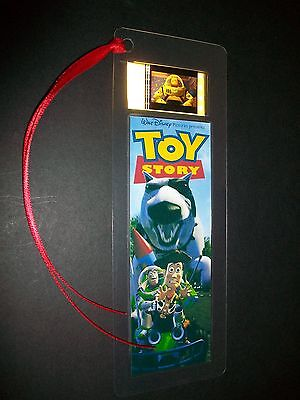 TOY STORY Buzz Woody Classic Movie Film Cell Bookmark Memorabilia Collectible