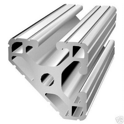 """80/20 Inc 1.5"""" x 1.5"""" 45° T-Slotted Aluminum Extrusion 15 Series 1547 x 60 N"""