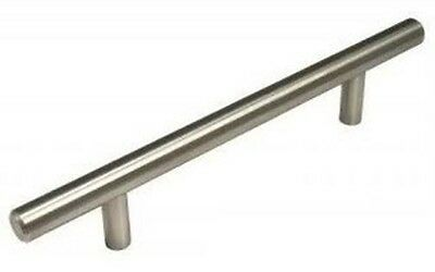 "2""T- 36"" Solid Stainless Steel Bar Pull Dresser Cabinet Hardware Kitchen Handle"