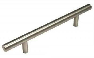 Solid Stainless Steel Bar Pull Cabinet Hardware Kitchen Bar Handles