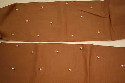 All Sizes Over The Boot Ice Skating Tights With Crystals  Tan Or Black