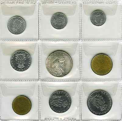 1979 Complete Set of Coins of San Marino (s22)