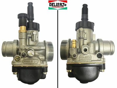 02522 Carburatore Dell'orto Phbg 19 Bs Piaggio Nrg Mc2 Mc3 Power 50 Aria Manuale