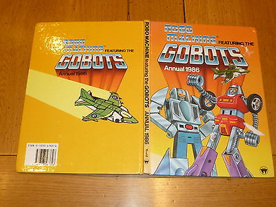 ROBO MACHINE Featuring the GOBOTS - 1989 Annual