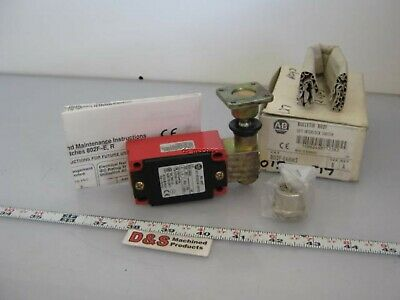 New in Box Allen Bradley 802F-E68M2 Safety Interlock Switch Key