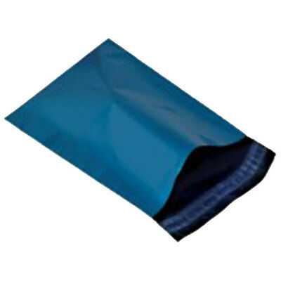 """100 Blue 13"""" x 19"""" Mailing Postage Postal Mail Bags"""