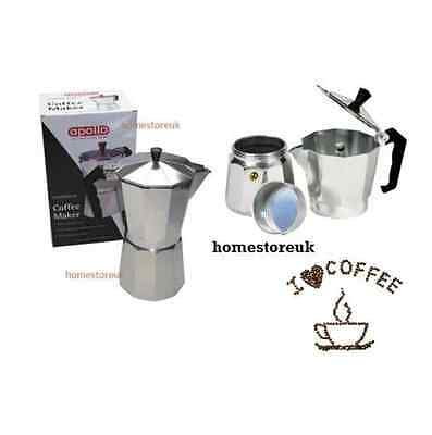 3/6/9/12 Cups Aluminium Coffee Maker Expresso Espresso Cafetiere Percolator