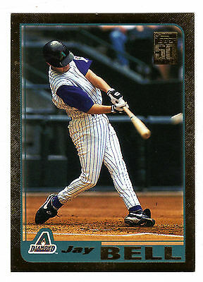 2001 Topps Gold BB #109 Jay Bell Diamondbacks BV$5