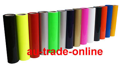 10m T-shirt ASC PU Vinyl Transfer Film for Plotter Cutter & Heat Press Machine
