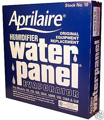Aprilaire Humidifier Water Panel #10 / 500 550 Water Panel Pad - Humidifier Pad