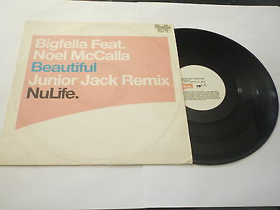 BIGFELLA - Beautiful - Featuring Noel McCalla - 2002 UK 2-track vinyl 12""
