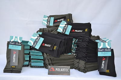 Polartec Fleece POWERSTRETCH Socks 4-WAY Stretch *Best for Reynauds Made in USA