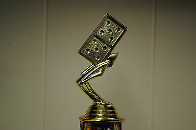 "10"" Domino's Trophy Award - Free Engraving - Free shipping"