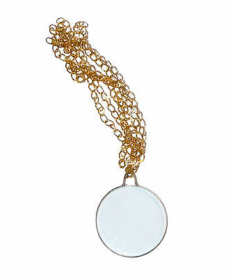 Monocle With Gold Tone Chain Eyepiece Victorian Monocle 60135