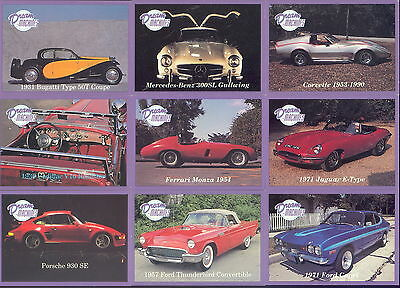 DREAM MACHINES 1 1991 LIME ROCK COMPLETE BASE CARD SET