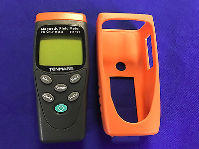 Hitech USA Magnetic Field/Gauss Meter(EMF/ELF)200~2000mG,20~200uT+Protect Cover