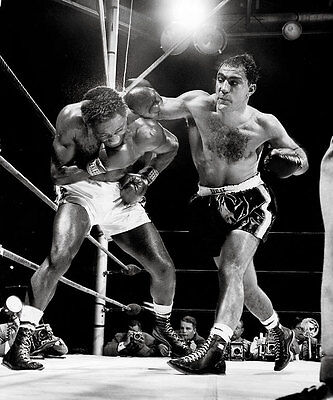 Rocky Marciano Boxing Fight 8X10 Glossy Photo The Best!