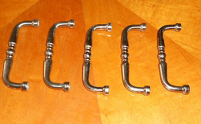 Stainless  Handle Cabinet Pull Set of 5