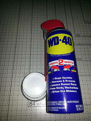 Large WD 40 lube can safe stash  diversion safes hide cash jewelry money coins