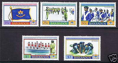 Barbados 2004 Centenary of Cadet Corps SG1242/6 MNH