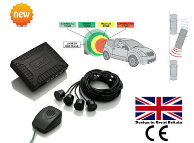 Parking Rear Sensors Reversing Kit 4 Sensor Kit- OEM Speaker British Brand