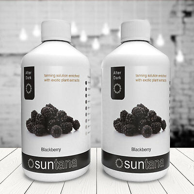Suntana Blackberry Fragranced Spray Tan (After Dark 14% DHA) - 500ml